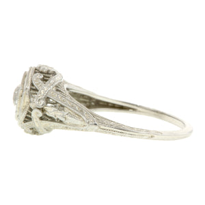 Art Deco Engagement Ring, Old Euro 0.38ct :: Doyle & Doyle