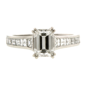 Emerald Cut Engagement Ring:: Doyle & Doyle