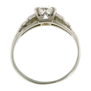 Vintage Engagement Ring, TRB 0.77ct:: Doyle & Doyle