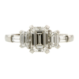 Emerald Cut  Engagement Ring Doyle & Doyle
