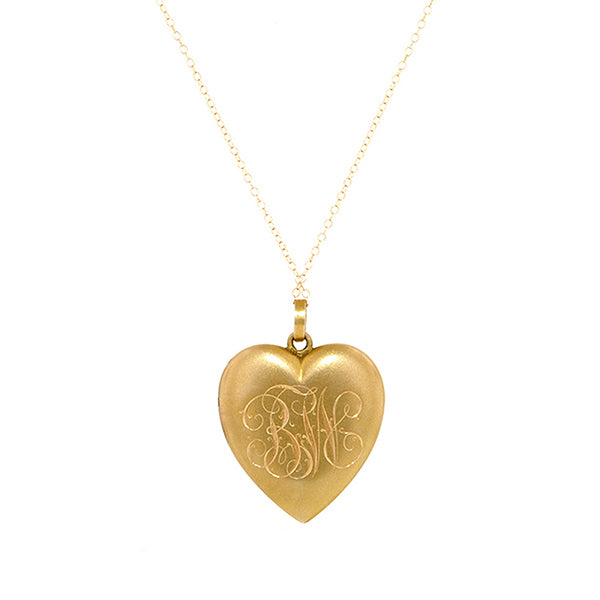 Antique Heart Locket:: Doyle & Doyle