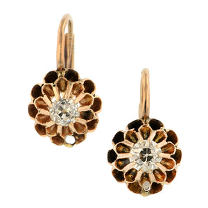 Antique Diamond Earrings::Doyle & Doyle