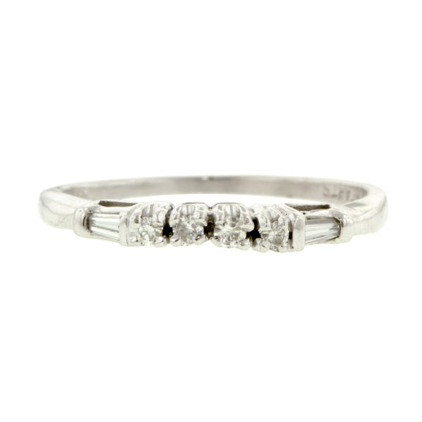 Vintage Diamond Wedding Band:: Doyle & Doyle