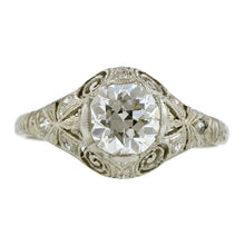 Edwardian Diamond Engagement Ring, TRB 0.98ct