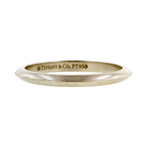 Vintage Tiffany & Co Wedding Band, sold by Doyle & Doyle an antique and vintage jewelry boutique.