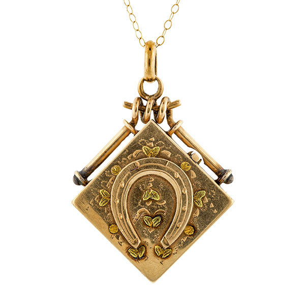 Victorian Horseshoe Locket :: Doyle & Doyle