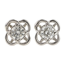 Entwined Diamond Stud Earrings- Heirloom by Doyle & Doyle
