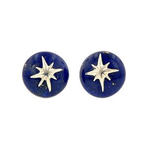 North Star Lapis Star Earrings from Doyle & Doyle