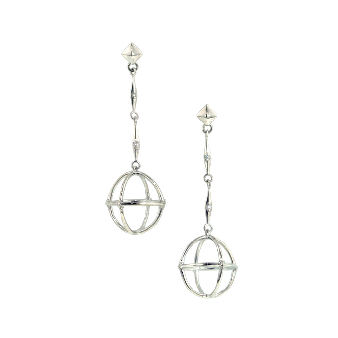 Globe Earrings- West 13th Collection, Doyle & Doyle