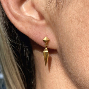 Plumb Earrings- Heirloom by Doyle & Doyle
