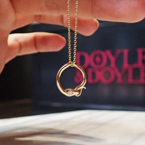 Ouroboros Necklace-Heirloom by Doyle & Doyle