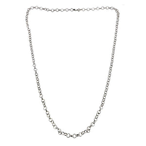 Round Link Necklace- Heirloom by Doyle & Doyle