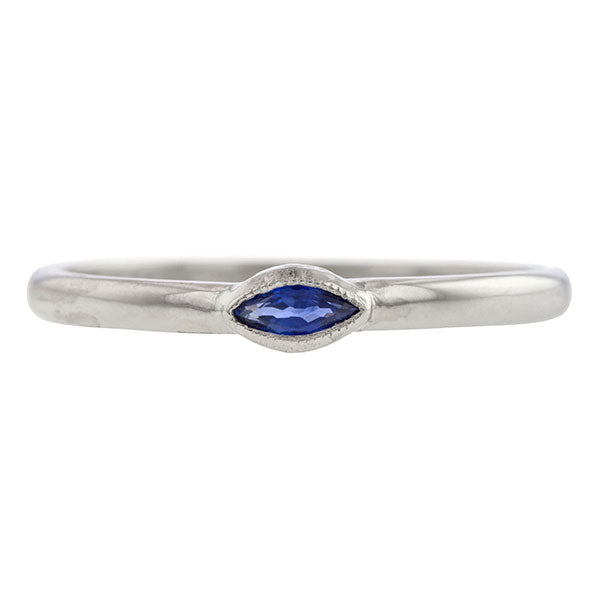 Marquise Sapphire Band