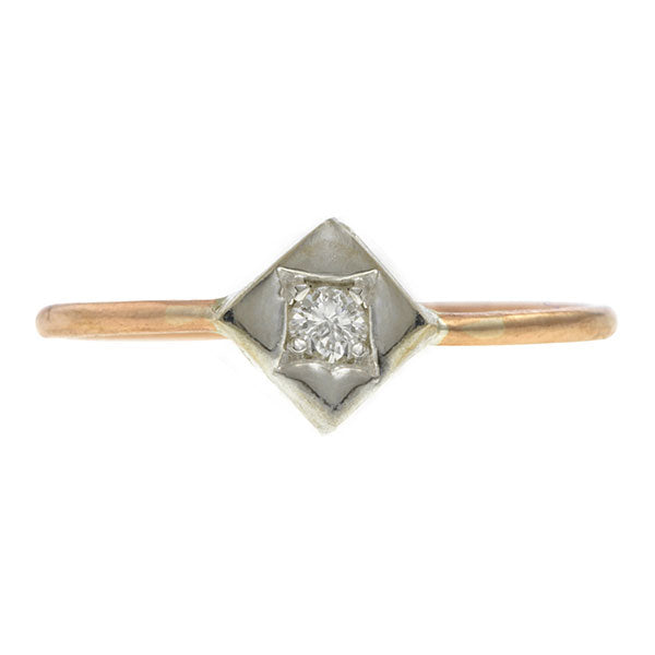 Diamond Solitaire Ring, Heirloom by Doyle & Doyle
