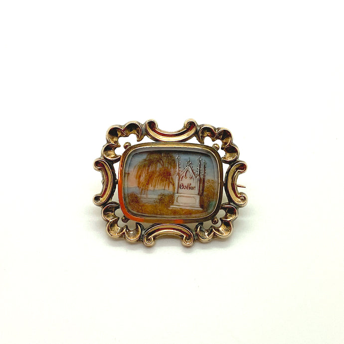 Oskar Mourning Brooch