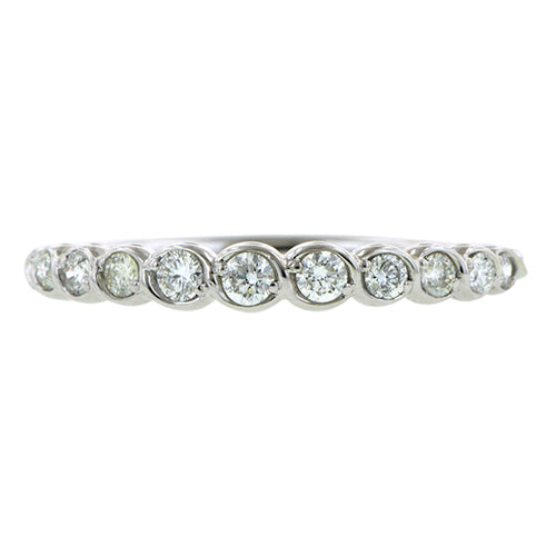 Entwined Diamond Wedding Band- Heirloom by Doyle & Doyle