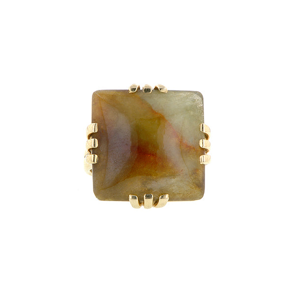 Brown Jade Ring
