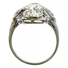 Art Deco Dinner Ring, Old European 1.13ct:: Doyle & Doyle