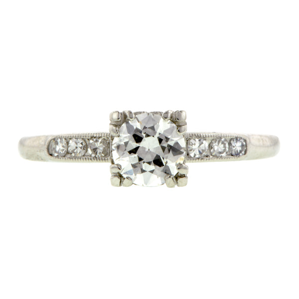 Vintage Engagement Ring, TRB 0.53ct::Doyle & Doyle