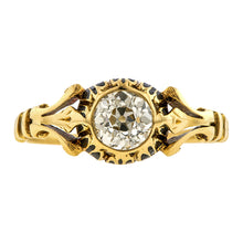 Victorian Renaissance Revival Engagement Ring, Old Euro 0.66ct:: Doyle & Doyle