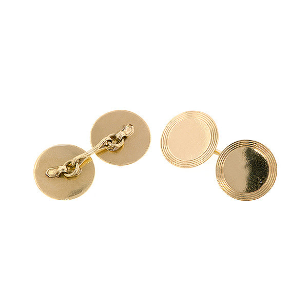 Antique Round Cufflinks:: Doyle & Doyle