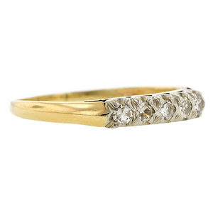 Vintage Diamond Wedding Band