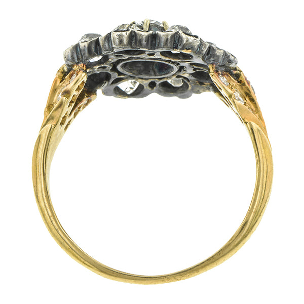 Georgian Cluster Ring::Doyle & Doyle