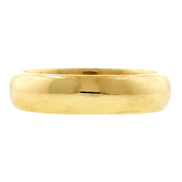 Antique ring: a Yellow Gold Wedding Band sold by Doyle & Doyle vintage and antique jewelry boutique.