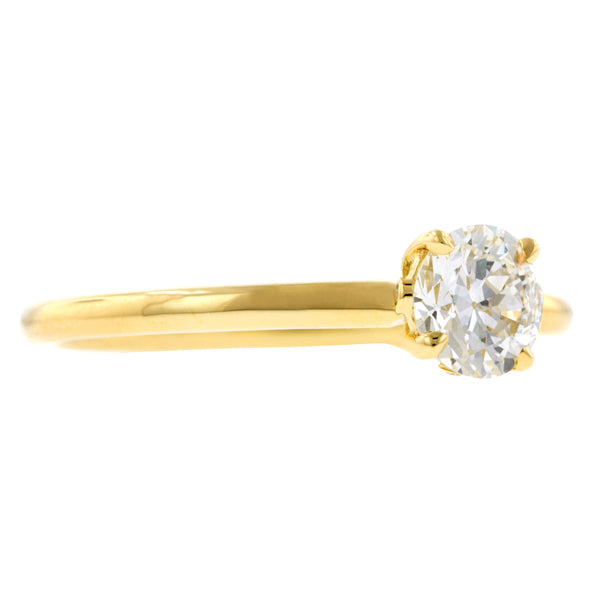 North Star Engagement Ring, RBC 0.56ct., West 13th Collection