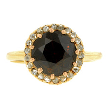 Victorian Garnet & Diamond Ring:: Doyle & Doyle