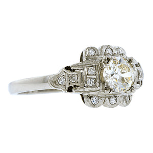 Vintage Diamond Engagement Ring, Old Euro 0.43ct:: Doyle & Doyle