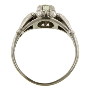 Vintage Diamond Engagement Ring, Old Euro 0.38ct:: Doyle & Doyle