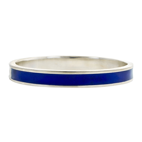 Interwoven Enamel Bracelet Simple- Heirloom by Doyle & Doyle