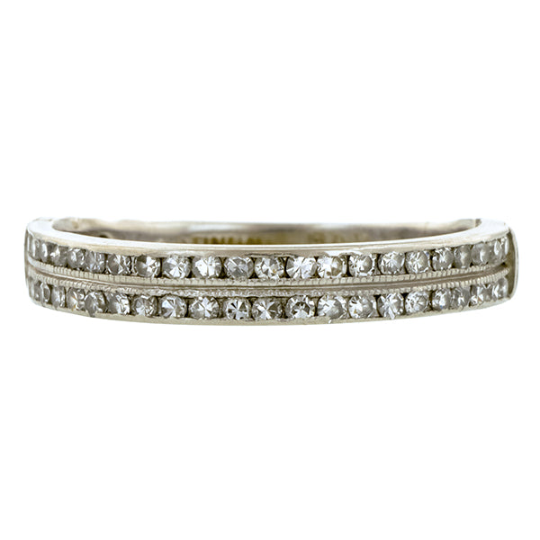 Vintage Diamond Band Ring::Doyle & Doyle