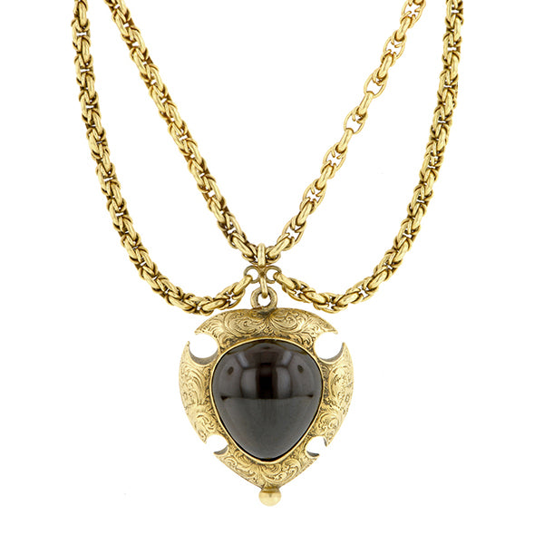 Victorian Garnet Necklace Doyle & Doyle