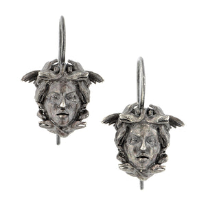 Medusa Drop Earrings, Heirloom by Doyle & Doyle
