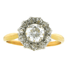Antique Diamond Cluster Engagement Ring, TRB 0.70ct:: Doyle & Doyle
