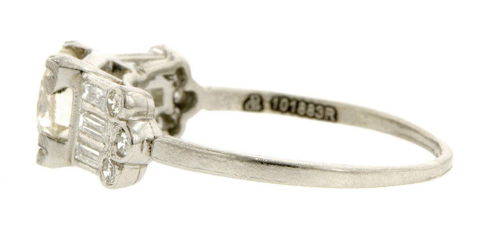 Vintage Engagement Ring, Doyle & Doyle