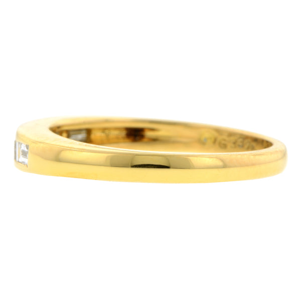 Baguette Diamond Wedding Band:: Doyle & Doyle