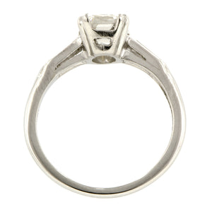 Vintage Engagement Ring, Emerald Cut 1.64ct:: Doyle & Doyle