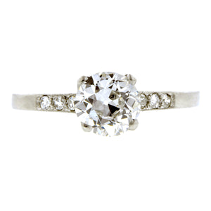 Vintage Engagement Ring, 1.02