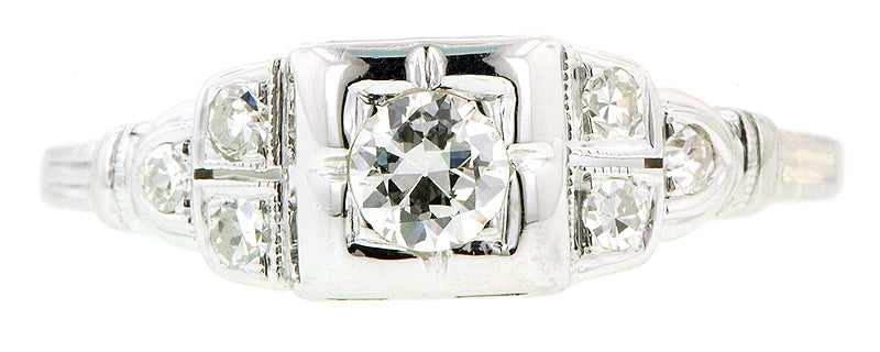 Art Deco Old Euro .15ct