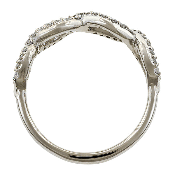 Entwined Diamond Band- Heirloom by Doyle & Doyle::