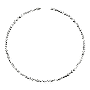 Vintage Tiffany & Co Diamond Straightline Necklace:: Doyle & Doyle