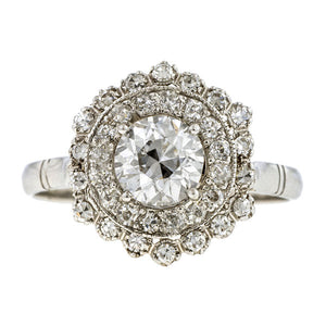 Vintage Engagement Ring, RBC 0.90ct:: Doyle & Doyle
