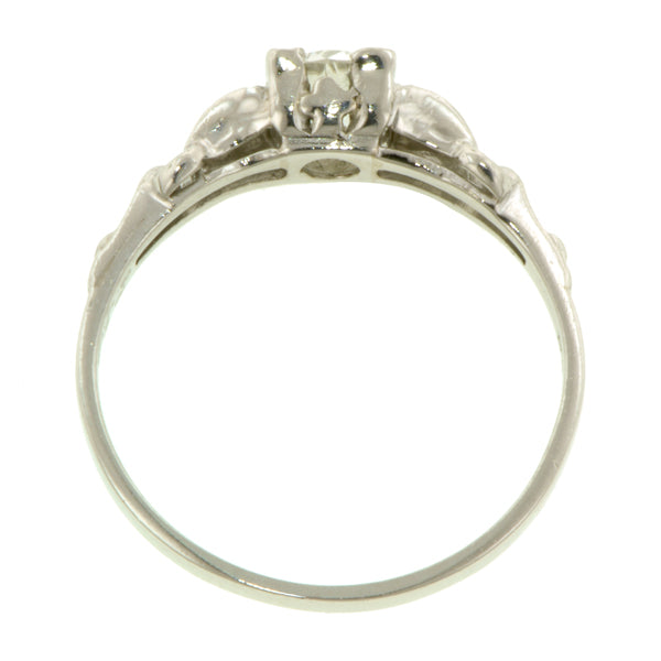 Art Deco Engagement Ring, Old Euro 0.39ct :: Doyle & Doyle