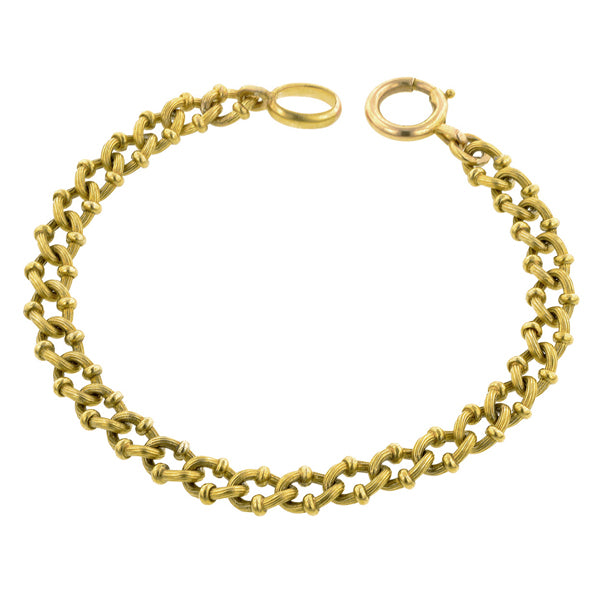 Antique Chain Link Bracelet:: Doyle & Doyle