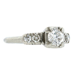 Vintage Diamond Engagement Ring, TRB 0.60ct:: Doyle & Doyle