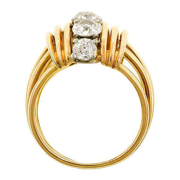 Retro Five Stone Diamond Ring :: Doyle & Doyle