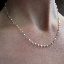 Vintage Pearl* Chain Necklace::Doyle & Doyle